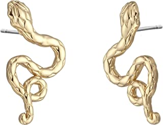 JUST CAVALLI Earrings, Sempre, Yellow gold Color-JCER00950200