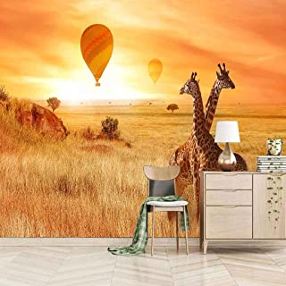 VITICP Adults Kids Wall Stickers Decals Peel and Stick Removable Wallpaper Animal Giraffe for Nursery Bedroom Living Room ...
