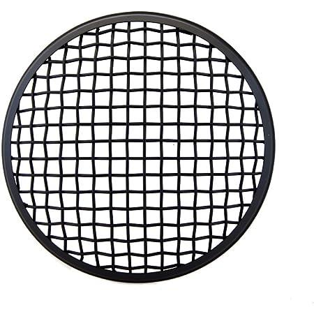 Copri faro moto 5,75 pollici nero per sostituzione moto griglia faro rete faro