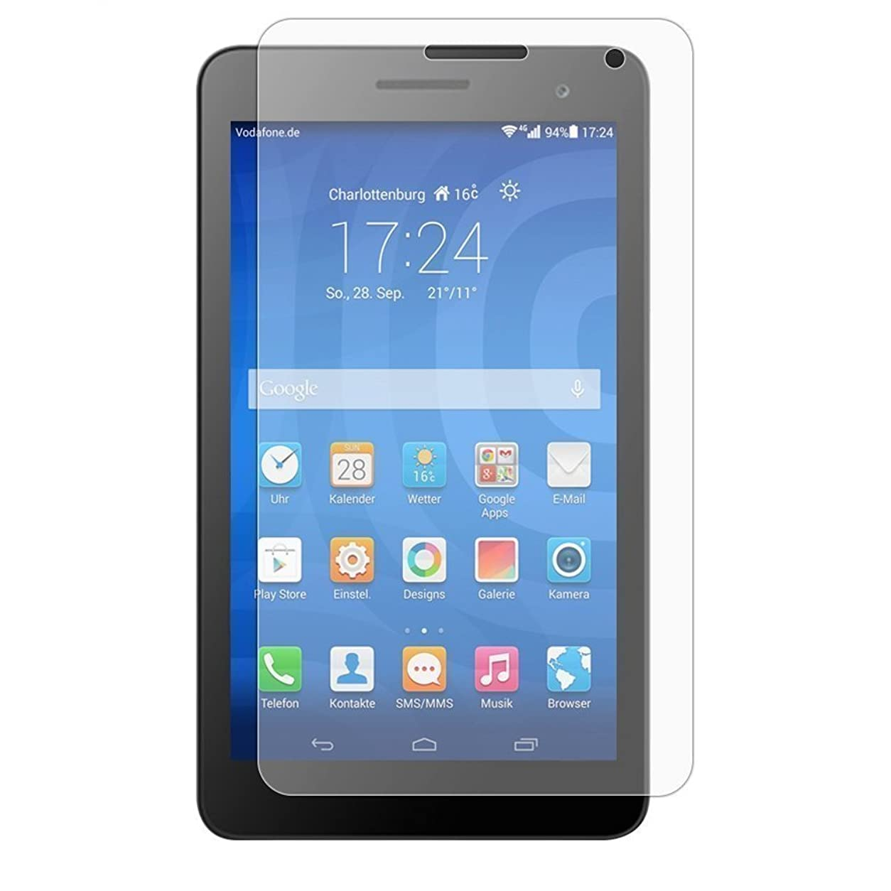 枕けがをする協同Huawei MediaPad T1 7.0 LTE フィルム 画面 保護 T1K 7.0 LTE ファーウェイ 7インチ SIMフリー タブレット T1 対応 自己吸着式 紫外線カット MY WAY SCREEN SHIELD コーティング スクリーンシート クリア