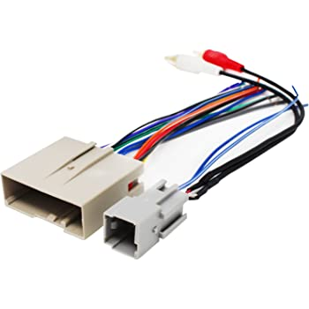 amazon.com: replacement radio wiring harness for 2005 ford escape, 2003 ford  expedition, 2006 ford explorer, 2006 hyundai sonata, 2005 ford focus, 2008  ford explorer, 2007 ford explorer, 2007 ford focus: car electronics  amazon.com