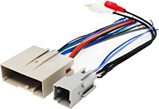 Replacement Radio Wiring Harness for 2005 Ford Escape, 2003 Ford Expedition, 2006 Ford Explorer, 2006 Hyundai Sonata, 2005 Ford Focus, 2008 Ford Explorer, 2007 Ford Explorer, 2007 Ford Focus
