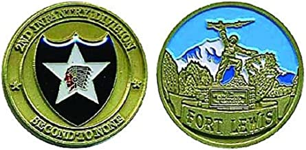 Fort Lewis 2nd Infantry Division Challenge Coin