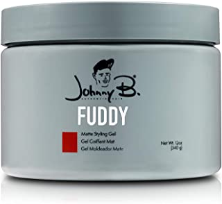 Johnny B All Day Hold Fuddy Matte Gel (12 ounce)