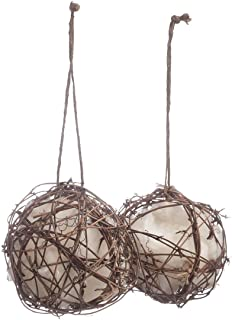 The Lakeside Collection Set of 2 Globe Hummingbird Nesters