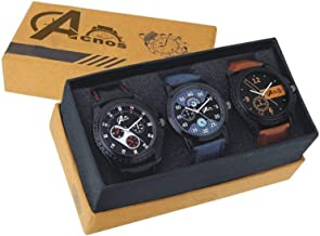 Acnos Special Super Quality Analog Watches Combo Look Like Handsome for Boys and Mens Pack of - 3(436-01-02)