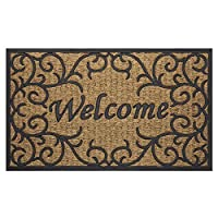 "Achim Home Furnishings COM1830VN6 Vines Coco Door Mat, 18 by 30"" [並行輸入品]"