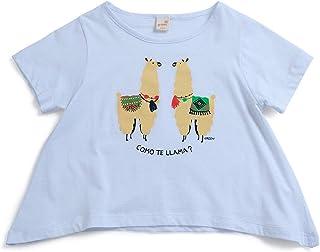 Camiseta Tagarela Green Branca - Infantil Menina