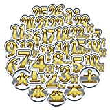 WYZN 40 unids lujo citas día pegatinas personalidad creativo DIY niños scrapbook decoración portátil impermeable...