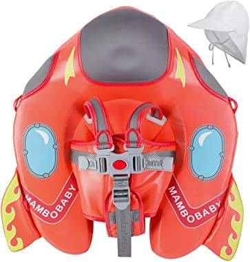 HECCEI Upgrade Baby Float for Infant Waist Swimming Ring Swim Trainer Life Vest Non-Inflatable Floats Toys with Adjustable Sa