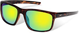 Toccoa Polarized Sport Sunglasses for Men and Women,Ideal for Driving Fishing Cycling and Running,UV Protection