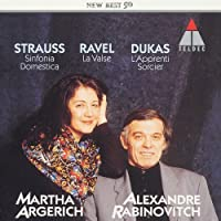 DUKAS,R.STRAUSS,RAVEL:PIANO DUET WORKS by ARGERICH & RABINOVITCH (2004-01-21)
