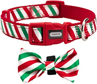 YUDOTE Dog Collar with Bowtie