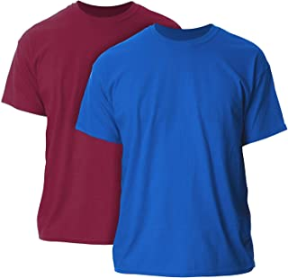 Gildan Men's G2000 Ultra Cotton Adult T-Shirt, 2-Pack