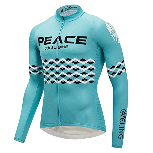 logas Road Cycling Jersey Men Lightweight MTB Clothing Long Sleeve Bicycle  Top+ 3D Gel Padded Pants 1884fabdc