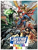 Justice league coloring book: Fantastic dc comis coloring book marvel +100 pages awesome justice league coloring for kids and children