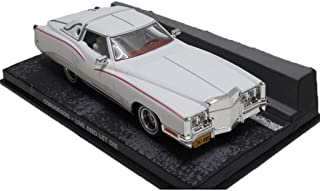ZHANGLIXIA-TOY Escala 1:43 del Modelo del Coche/Compatible con El Modelo Modelo De Recogida De Cadillac Corvorado/Car (Color : White)