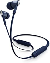 TCL MTRO100BT Wireless in-Ear Earbuds Noise Isolating Bluetooth Headphones with 18 Hour Battery Playtime and Built-in Mic - Slate Blue