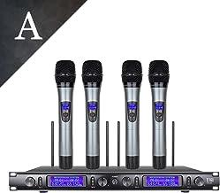 xtuga UHF conjunto Metal ew240 sistema de micrófono inalá