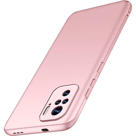 anccer Compatible with Xiaomi Redmi Note 10 4G Case, Redmi Note 10S Case [Colorful Series] [Ultra-Thin] [Anti-Drop] Premium Material Slim Full Protective Cover (Rose Gold)