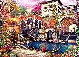 HUADADA Puzzle da 1000 pezzi per adulti, puzzle classico, paesaggio Venezia, Puzzle per bambini, 1000 pezzi, 70 x 50 cm (Romance a Venee)