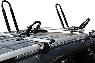 Ace-Trades 2 Pairs J-Bar Universal Carrier Kayak Rack Canoe Boat Surf Ski Roof Top Mounted on Car SUV Crossbar