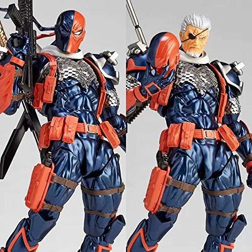 Action Figure DC Justice League Deathstroke Slade Cartoon Modell Von Joseph Wilson 17CM