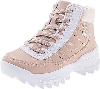 Tênis Infantil Feminino Bergamo Blush Pink Cats - V0463 Rosa