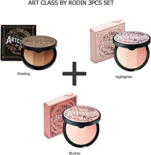too cool for school Art Class By Rodin + Highlighter + Blusher 3pcs Set/トゥークール フォースクール アートクラス バイ ロダン+ハイライター+ブラッシャー 3個セット