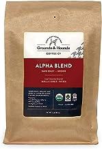 Grounds & Hounds Alpha Blend - 2 LB Dark Roast – 100% Fair Trade & Organic Ground Coffee - 100% Arabica Small Batch Roaste...