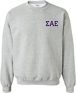 Sigma Alpha Epsilon SAE World Famous Crest Crewneck Sweatshirt