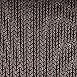 Hamburger Liebe Big Knit Knit Jacquard-Jersey Bio-Stoff