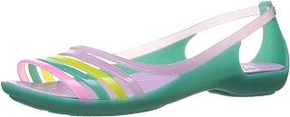 crocs Women's Isabella Huarache Coral Fashion Sandals