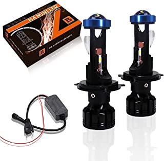Car Light Accessories - Canbus 80W Lamp H7 LED Mini Projector Lens Automobles Bulb 18000LM Conversion Kit Hi/Lo Beam Headl...