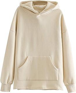 CML Suelta de Gran tamaño Sudaderas con Capucha for Mujer de la Camiseta de otoño Invierno Polar Sudaderas con Capucha 202...