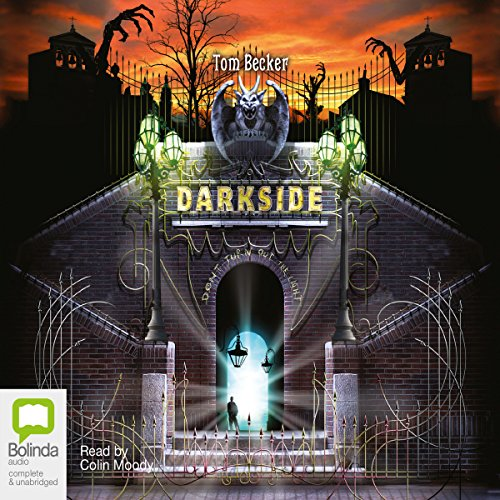 Darkside audiobook cover art