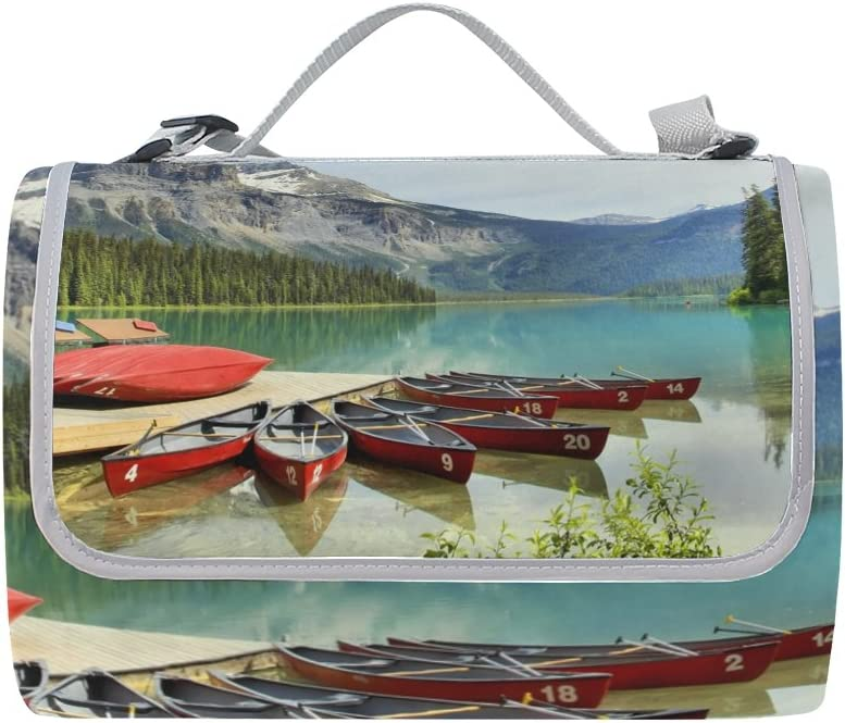 Florence Soldering Canadian Emerald Lake Picnic Blanket Foldable Landscape Oakland Mall