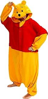 Adult Unisex Sleepwear Cosplay Pajamas Onesies Winnie The Pooh