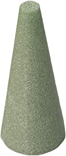 FloraCraft Styrofoam Cone 3.8 Inch x 8.8 Inch Green