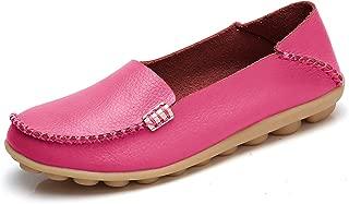 VenusCelia Womens Comfort Walking Red Size: 8