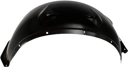 Inner Fender Compatible with Chevrolet C/K Series Pickup/Suburban 1967-1972 Passenger Side Wheelhouse Steel Black
