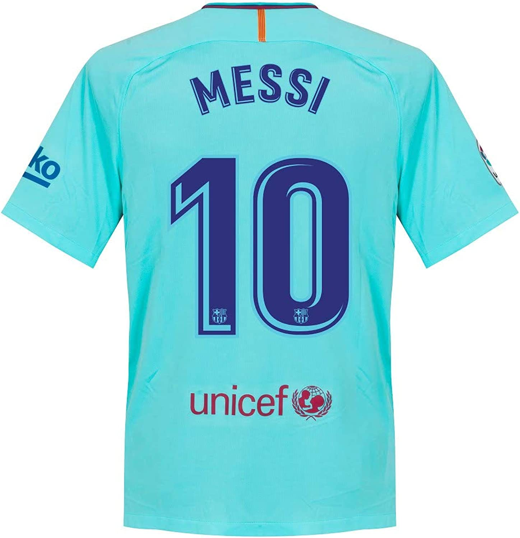 Nike Barcelona Away Messi Jersey 2017 2018 (Offizielle Druck) Druck) Druck) B073V3SDD9  Stilvoll und charmant b06899