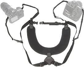 "OP/TECH USA Dual Harness 3/8"" Regular – Two-Camera Harness"