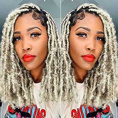 Amazon - 70% Off on Butterfly Locs Crochet Hair 12inch 6 Packs Pre Looped Short Distressed Faux Locs Crochet Braids