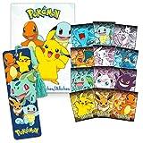 Pokemon Bookmark Bundle Pokemon School Supplies ~ Pokemon Bookmark for Boys and Girls with Pokemon Poster Book (Pokemon Party Favors)