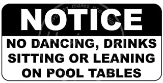 Liu Beishan NoticeDrinks Sitting Or Leaning On Pool Tables Metal Wall Art Tin Signs Warning Animal Funny Restaurant Bar Band Newly Married Birthday Party Christmas