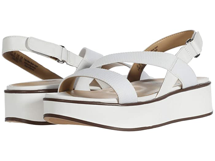 Naturalizer  Charlize (White Smooth) Womens Sandals