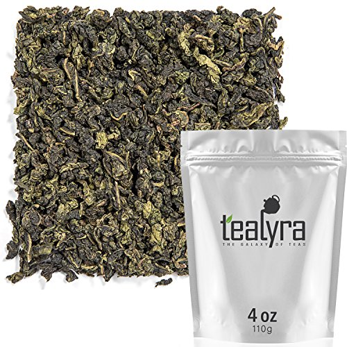 Tealyra - Tie Guan Yin - Oolong Loose Leaf Tea - Iron Goddess of Mercy - Organically Grown - Healing Properties - Best Chinese Oolong - Fresh Award Winning - Caffeine Medium - 110g (4-ounce)