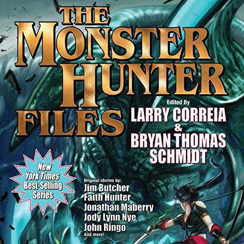 The Monster Hunter Files audiobook cover art