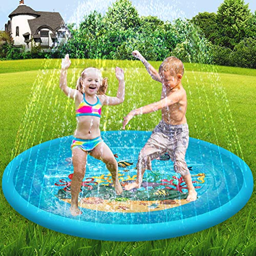 Scientoy Splash Pad & Sprinkler for Kids,68...